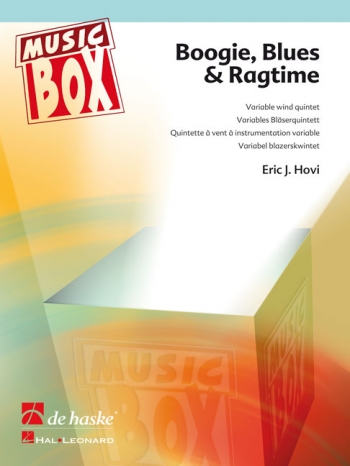 Boogie, Blues & Ragtime: Variable Wind Quintet Music Box (Hovi)