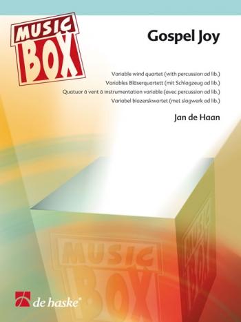 Music Box: Gospel Joy: Variable Wind Quartet  (De Haan)