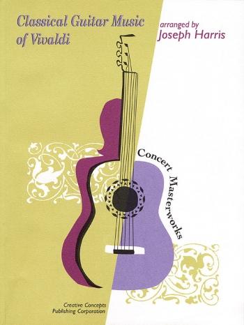 Classical Guitar Music Of Vivaldi: Guitar Tab (Hal Leonard)