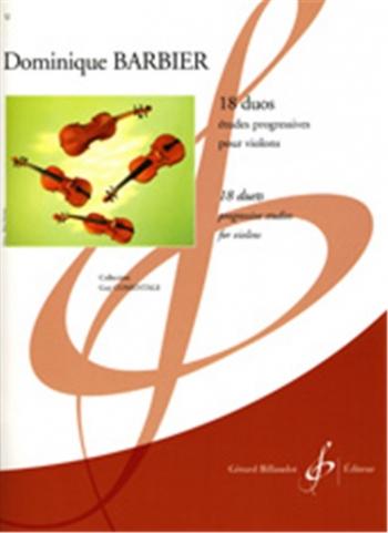 18 Duos: Progressive Studies: Violin Duet