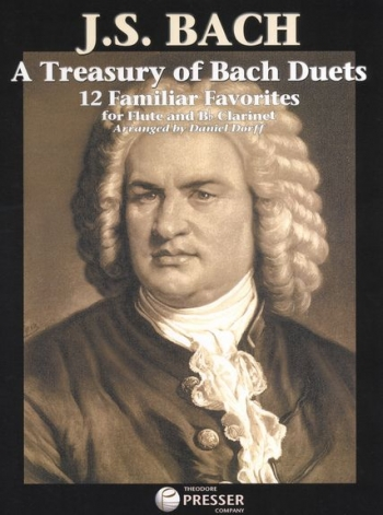 Treasury Of Bach Duets: 12 Familiar Favourites: Flute And Clarinet Duet