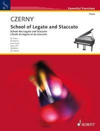 School Of Legato And Staccato: Piano (Schott Ed)