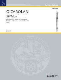 16 Trios: 2 soprano recorders and 1 treble recorder