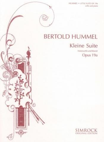 Kleine Suite: Op 19a: Cello
