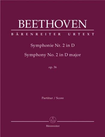 Beethoven: Symphony: No 2: D Major: Op36: Score