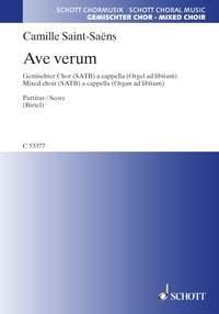 Ave Verum: Satb: A Capella