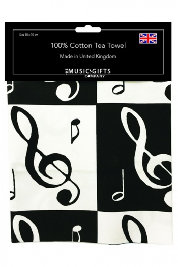 Tea Towel - Music Notes