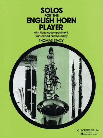 Solos For The English Horn Player - Cor Anglais And Piano (Schirmer)