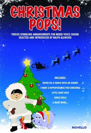 Christmas Pops: Vocal: SATB: (Allwood)