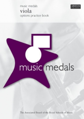 ABRSM Music Medal: Viola: Options Practice Book