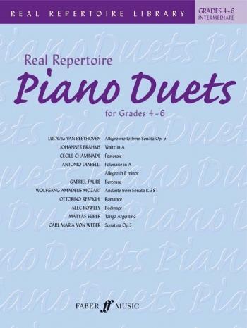 Real Repertoire Duets : Grade 4-6: Intermediate Piano Duets
