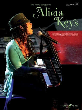 Alicia Keys: The Piano Songbook: Piano Vocal Guitar
