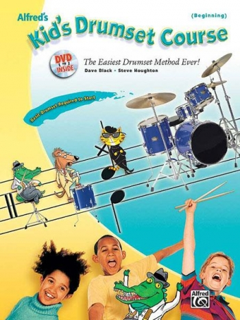 Kids Drumset Course: Tutor: Bk&Cd& DVD