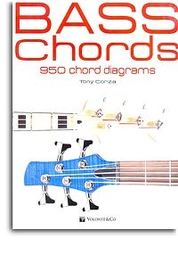 Bass Chords: 950 Chord Diagrams