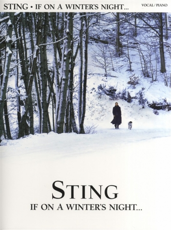 Sting: If On A Winters Night: Piano Vocal Guitar