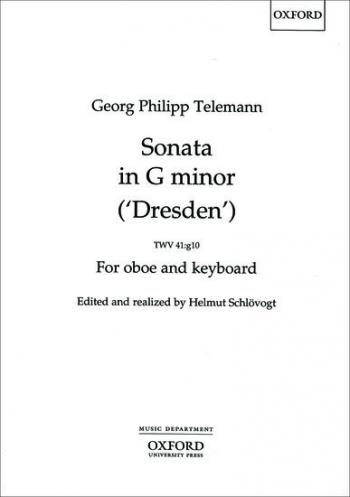 Sonata In A Minor: Oboe & Piano TWV41