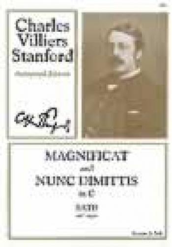 Magnificat And Nunc Dimittis In C: Vocal: Satb & Piano