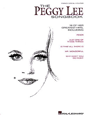 Pegy Lee Songbook: Piano Vocal Guitar
