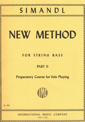 Double Bass Method: Vol.2