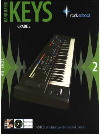 Rockschool Keys: 2: Band Based Keyboard: From 2009: Book & CD