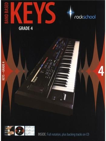 Rockschool Keys: 4: Band Based Keyboard: From 2009: Book & CD