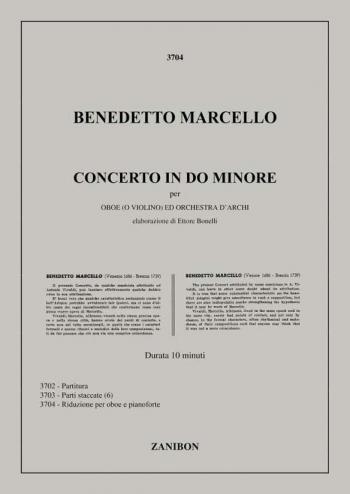 Concerto: C Minor: Oboe Or Violin & Piano (Billaudot)