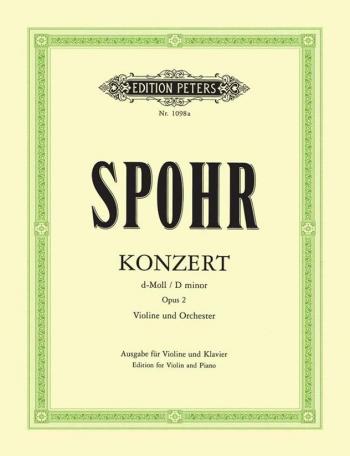 Violin Concerto D Minor: Op2 (Peters)