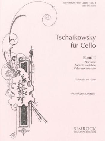 Tchaikovsky For Cello: Vol.2
