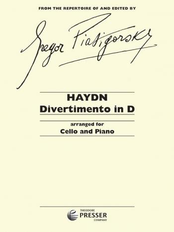 Divertimento In D: Cello & Piano (Presser)