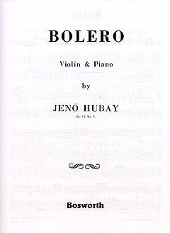 Bolero: Violin & Piano