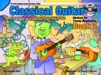 Progressive Classical Guitar Method For Young Beginners 2 Book & CD