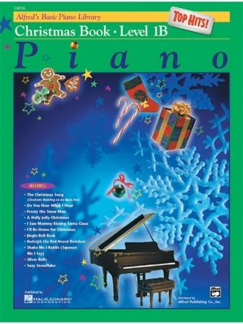 Alfred Basic Piano Lesson Book: 1B: Christmas Book: Top Hits: Piano