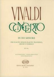Concerto: C Minor: RV441: Flute & Piano