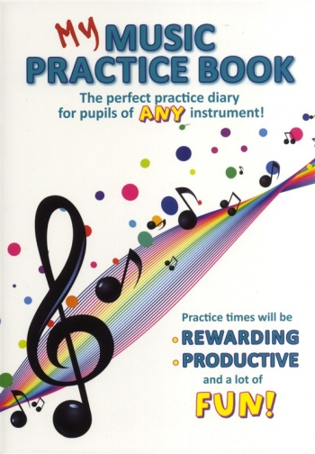 My Music Practice Book: Notebook