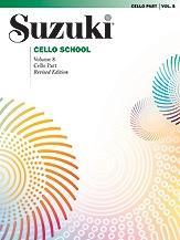 Suzuki Cello School Vol.8 Cello Part (Revised)