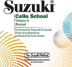 Suzuki Cello School Vol. 8 CD Only