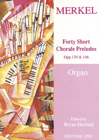 Forty Short Chorale Preludes Organ