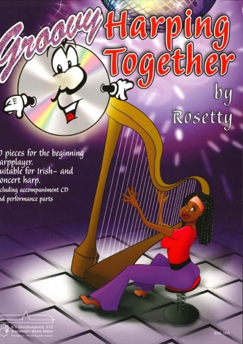 Rosetty - Groovy Harping Together - Harp - Book And Cd