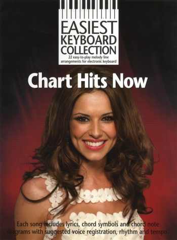 Easiest Keyboard Library: Chart Hits Now