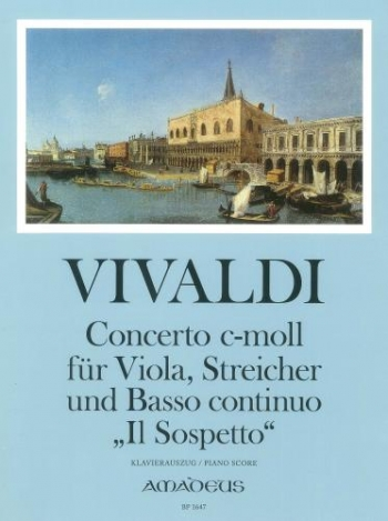 Concerto: C Minor: Il Sospetto