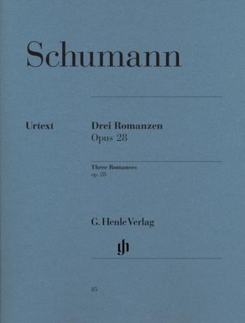 Three Romances: Op 28: Piano  (Henle Ed)