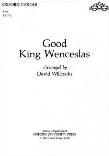 Good King Wenceslas: Vocal: SATB