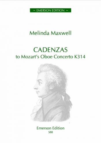 Cadenzas To Mozarts Oboe Concerto K314: Obe & Piano (Emerson)