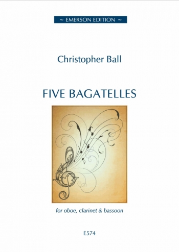 Five Bagatelles: Oboe Clarinet And Bassoon: Emerson