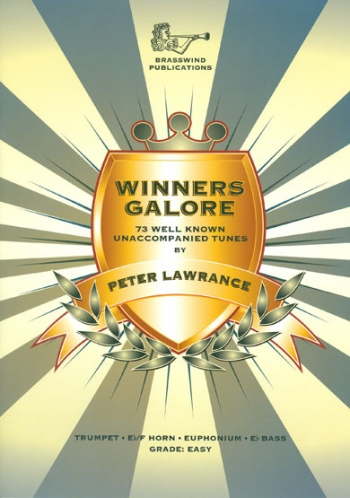 Winners Galore: Trumpet/Baritone/Euphonium/Treble Clef Trombone: Book And CD  (lawrance)