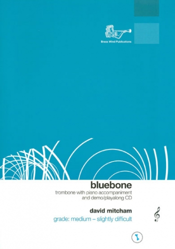 Bluebone Treble Clef Trombone - Book And CD (Mitcham)