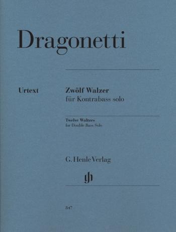 Twelve Waltzes: Double Bass