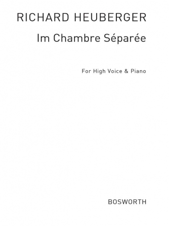 Im Chambre Separee: Vocal: High Voice