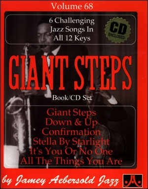 Aebersold Vol.68: Giant Steps: All Instruments: Book & CD