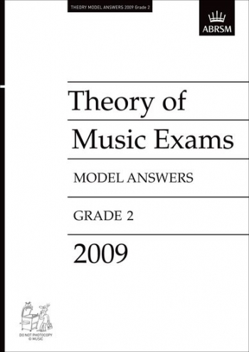 ABRSM Theory Of Music Exams Model Answers 2009: Grade 2